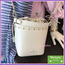 【kate spade】注目の可愛いバケツバッグ★studded pippa★