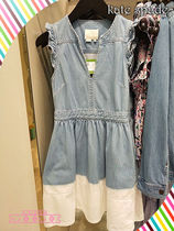 デニムワンピが素敵kate spade☆ DIP DYE DENIM DRESS