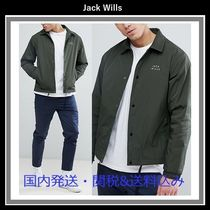 新作♪ Jack Wills Chequers Coach Jacket In Olive