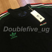 Palace Skateboards(パレススケートボーズ) Tシャツ・カットソー 新品未使用 Palace adidas Terry T-Shirt 黒 Black 18ss パレス