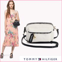 TOMMY HILFIGER☆ロゴテープ クロスボディバッグ