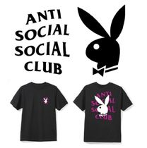 【即発送】ANTI SOCIAL SOCIAL CLUB  x Playboy コラボ ロゴ T