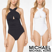 MICHAEL KORS CROSS-FRONT MAILLOT
