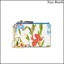 【Tory Burch(トリーバーチ)】Printed Card Case Key Fob