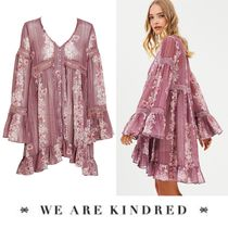 WE ARE KINDRED(ウィーアーキンドレッド) ワンピース '18SS【WE ARE KINDRED】ゆったり可愛い〓花柄フレアワンピ