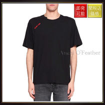 【ヘルムート ラング】Logo Cotton T Shirt Nero