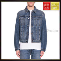 【ヘルムート ラング】Cotton Denim Jacket Blu