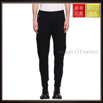 【ヘルムート ラング】Cotton Zipped Track Pants Nero