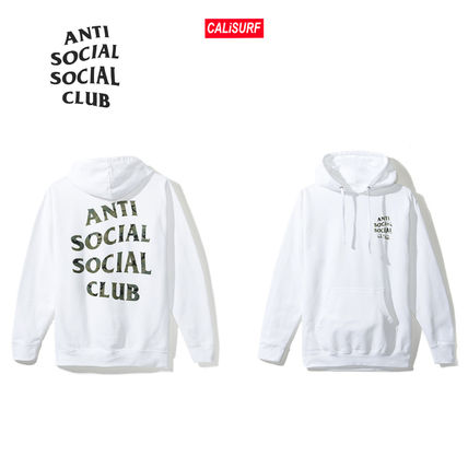 ANTI SOCIAL SOCIAL CLUB パーカー・フーディ 【SALE】ANTI SOCIAL SOCIAL CLUB -Woody White Hoody パーカー