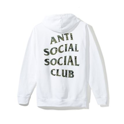 ANTI SOCIAL SOCIAL CLUB パーカー・フーディ 【SALE】ANTI SOCIAL SOCIAL CLUB -Woody White Hoody パーカー(2)