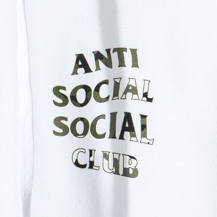 ANTI SOCIAL SOCIAL CLUB パーカー・フーディ 【SALE】ANTI SOCIAL SOCIAL CLUB -Woody White Hoody パーカー(4)