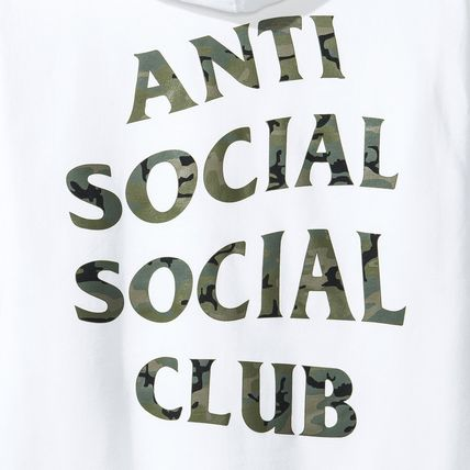 ANTI SOCIAL SOCIAL CLUB パーカー・フーディ 【SALE】ANTI SOCIAL SOCIAL CLUB -Woody White Hoody パーカー(5)