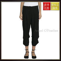 Ann Demeulemeester(アン ドゥムルメステール) パンツ 【アン ドゥムルメステール】Viscose And Wool Cropped Pants