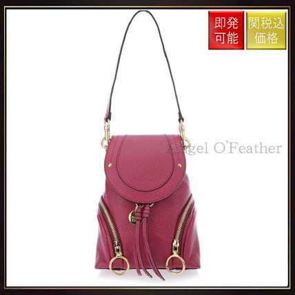 See by Chloe バックパック・リュック 【シーバイクロエ】Berry k Olga Small Grained Backpack