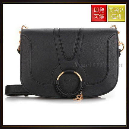 See by Chloe ショルダーバッグ 【シーバイクロエ】Black Hana Medium Shoulder Bag Black