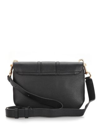 See by Chloe ショルダーバッグ 【シーバイクロエ】Black Hana Medium Shoulder Bag Black(2)