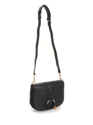See by Chloe ショルダーバッグ 【シーバイクロエ】Black Hana Medium Shoulder Bag Black(4)