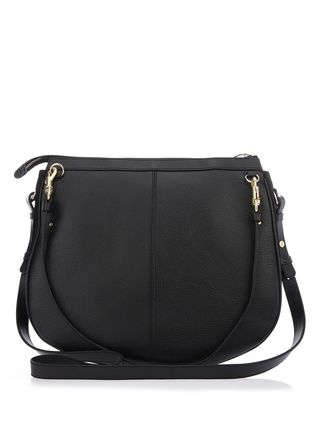 See by Chloe ショルダーバッグ 【シーバイクロエ】Black Hana Suede And Leather Shoulder Bag(2)