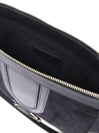 See by Chloe ショルダーバッグ 【シーバイクロエ】Black Hana Suede And Leather Shoulder Bag(3)