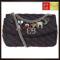 【バレンシアガ】Bb Round M Leather Bag OneColor