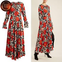 DVF EXCLUSIVE Boswell floral-print silk ワンピース