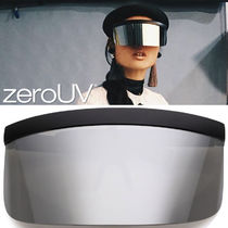 全7色*zeroUV*OVERSIZE NOVELTY MIRRORED LENS SHIELD VISOR