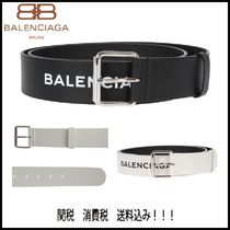 【マストアイテム】BALENCIAGA -logoed leather belt