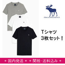 Abercrombie & Fitch★ロゴTシャツ3枚セット【関税・送料込】