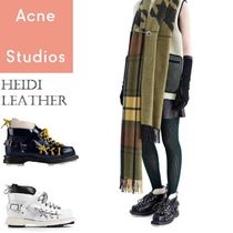 ACNE Heidi Lace Up Leather Boots レースアップレザーブーツ3色