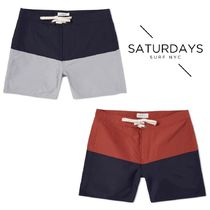 新作★Saturdays Surf NYC Boardshort★サタデーズ 水着