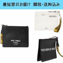 Off-White(オフホワイト) クラッチバッグ 【1-3日お届け】OFF WHITE For Display Only ポーチ クラッチ
