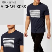 【Michael Kors】Do the Wave グラフィック プリントTシャツ