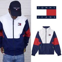 Tommy Hilfiger(トミーヒルフィガー) ブルゾン 新作★Tommy Jeans 90s Track Jacket★トミートラックジャケット