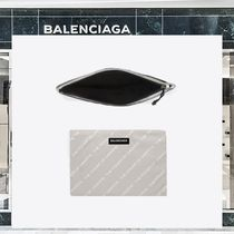 18SS BALENCIAGA ☆THE POWER OF DREAMS クラッチ グレー