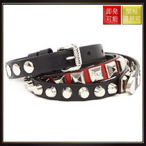 【プラダ】Studded Belt Multicolor