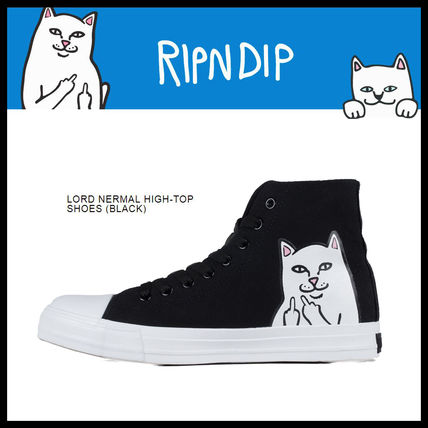 即発送料込 RIPNDIP LORD NERMAL HIGH-TOP SHOES