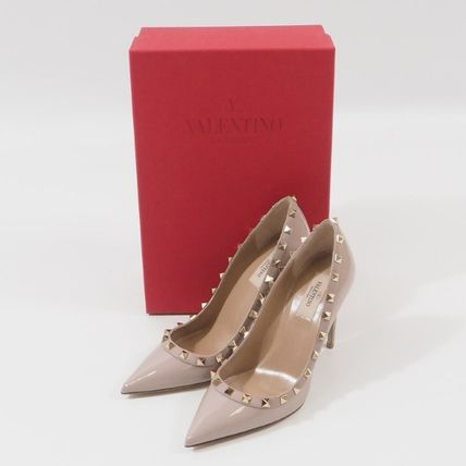 VALENTINO 16AW ROCKSTUD PUMPS:38[RESALE]