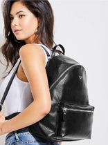 追尾/関税/送料込 GUESS LEEZA PEBBLED LARGE BACKPACK