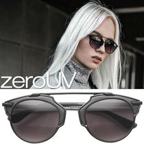 再入荷なし*zeroUV*NEW WOMEN'S HORNED RIM OUTLINE SUNGLASSES