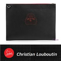 【Christian Louboutin】Skypouch ロゴ紋章プリント デイバッグ