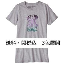 Patagonia Women's Defend The Earth Responsibili-Tee 3色