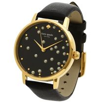 【破格Sale☆日本未入荷】Metro watch Gold tone Black Leather