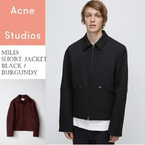 Acne(アクネ) ジャケットその他 Acne Miles cropped jacket クロップドショートジャケット 2色