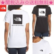 THE NORTH FACE(ザノースフェイス) Tシャツ・カットソー ★THE NORTH FACE★Red Box Tee★2色★背中にビックロゴ!