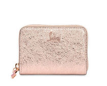 【Christian Louboutin】Panettone Coin Purse Rose Gold