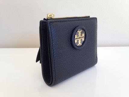 Tory Burch 折りたたみ財布 TORY BURCH WHIPSTITCH LOGO MINI WALLET セール 即発送