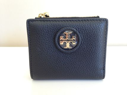 Tory Burch 折りたたみ財布 TORY BURCH WHIPSTITCH LOGO MINI WALLET セール 即発送(2)