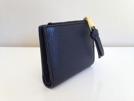 Tory Burch 折りたたみ財布 TORY BURCH WHIPSTITCH LOGO MINI WALLET セール 即発送(3)