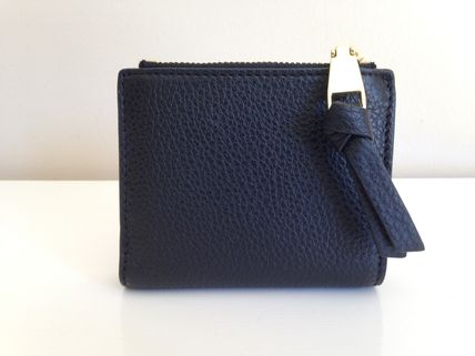Tory Burch 折りたたみ財布 TORY BURCH WHIPSTITCH LOGO MINI WALLET セール 即発送(4)