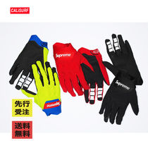 【先行受注】 WEEK12 SS18 SUPREME x FOX RACING/ BOMBER GLOVES